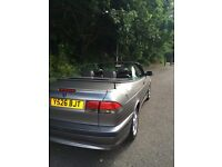 Saab 93 2001 2.0 Turbo Convertable Manual