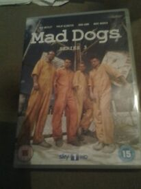 Mad Dogs DVD Collection for sale.