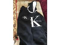 Calvin Klien hoddie and bottom