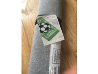 Brand new Next football pitch rug rrp £35