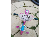 Girls Kids Bike with Stabilisers - First Childrens Bicycle for Girls
