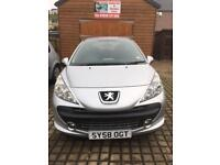 Very low mileage Peugeot 207 Sport HDI