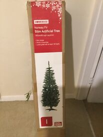 6ft artificial Xmas / Christmas tree