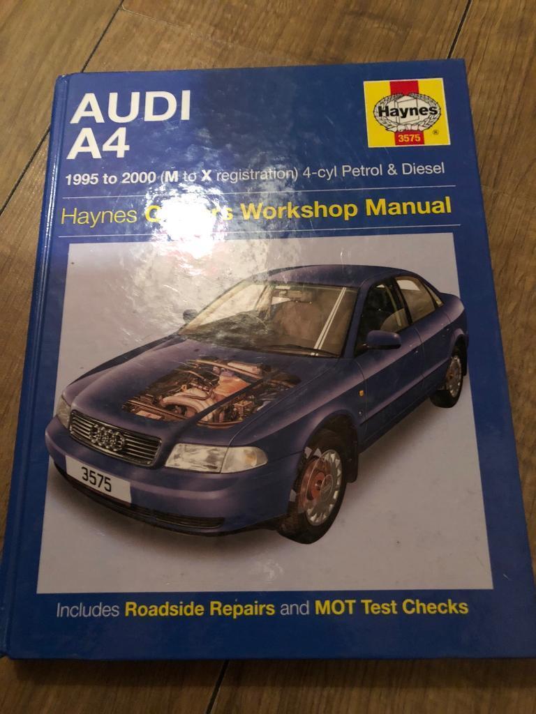 Haynes manual Audi A4 95-00 new