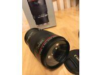 Canon EF 100 mm f 2.8 L macro is USM Lens - Immac inc tripod bracket.. quality lens.. original box