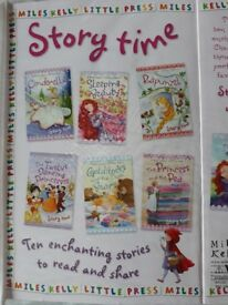 Story time set of 10 books