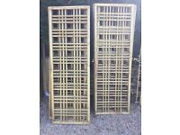 Trellis Tanalised. 6 ft x 2 ft. Very Decorative. Unique Panels. AVAILABLE IMMEDIATELY.