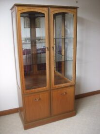GLASS DISPLAY CABINET GLASS CABINET DISPLAY UNIT CHINA CABINET SIDEBOARD DISPLAY CUPBOARD UNIT