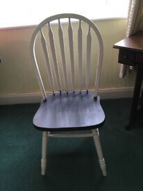 Wood chair ready to be up cycled