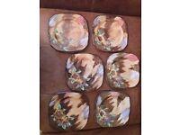 6 x H & K Tunstall Viola. square Sandwich plates