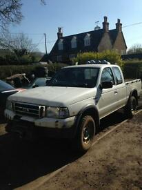 Ford Ranger King cab 2002 Breaking parts available