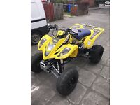 Suzuki LTZ400 Quad Bike / Road Legal 2008 **NOT raptor, yfz, 450, 700**