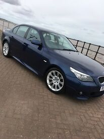 BMW 520D MSPORT 2008 LCI 4 OWNERS HEATED SEATS RE MAP AND DPF DELETE FULL YEARS MOT 160000 MILES!!!