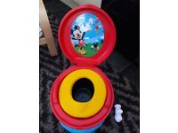Mickey mouse potty