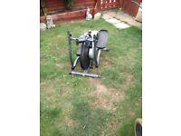 pair of fitness equipment