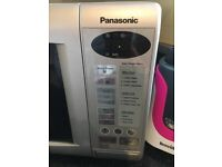 microwave oven in silver colour, good condition, comes with grill option. Priced for quick sale