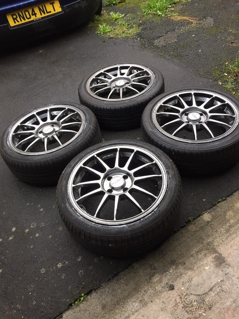 Super light Alloy Wheels 4x108 17x7 ford peugeot