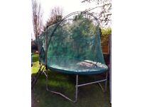 14ft*8ft oval trampoline