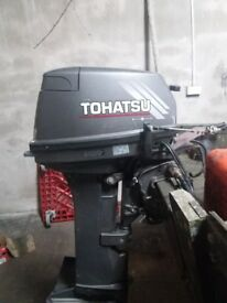 18hp tohatsu outboard 2 stroke long shaft