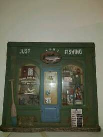 Old 3d style pic of Old Fishing shop