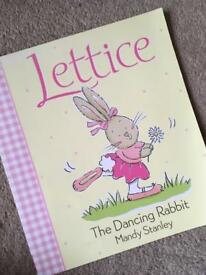 Lettice, the dancing rabbit
