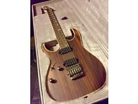 Ibanez Premium RG721RWL-CNF left handed electric guitar. Virtually brand new in Case.