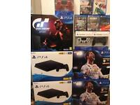 New and used PS4 consoles 500GB 1TB PRO prices from £159