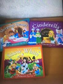 3 Pop Up Books