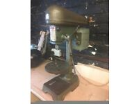 Pillar drill, hoover motor UK made, Astra drill press bench top