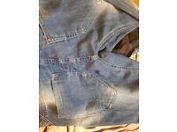 Assortment of ladies denim jeans