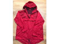 Active Lightweight Rain Coat Size M