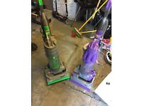 2 x dyson vacuum cleaners