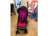 Chicco Eco Stroller Ibiza with black footmuff