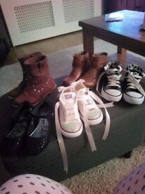 Girls boots n trainers n shoes