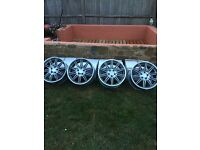 BMW mv4 set of alloys