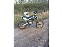 Kmx160 4 stroke pit bike
