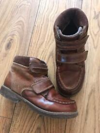 Boys Brown ankle boots from Next size 13
