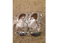 New! Baby Moccasins Size 6-12 Months - WILL POST FOR £2