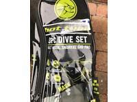 3 piece dive set