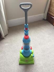 Argos/Chad Valley push along toy hoover/vacuum with spinning balls