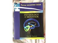 Physiology of behaviour book