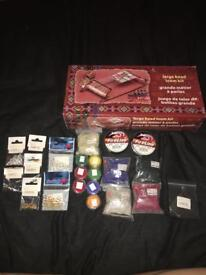 Bead loom and beads, etc - NEW