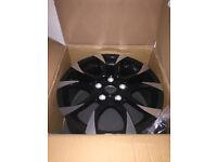 "Wolfrace assassin Alloy wheels 17"" inch 5x120 BMW VW Lexus LS460 LS600 Honda Legend alloys wheel"