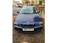 BMW 318ti SE compact £1500 O.N.O full service history