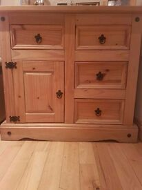 SOLD Mexican pine sideboard table SOLD