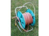 20m garden hose with reel