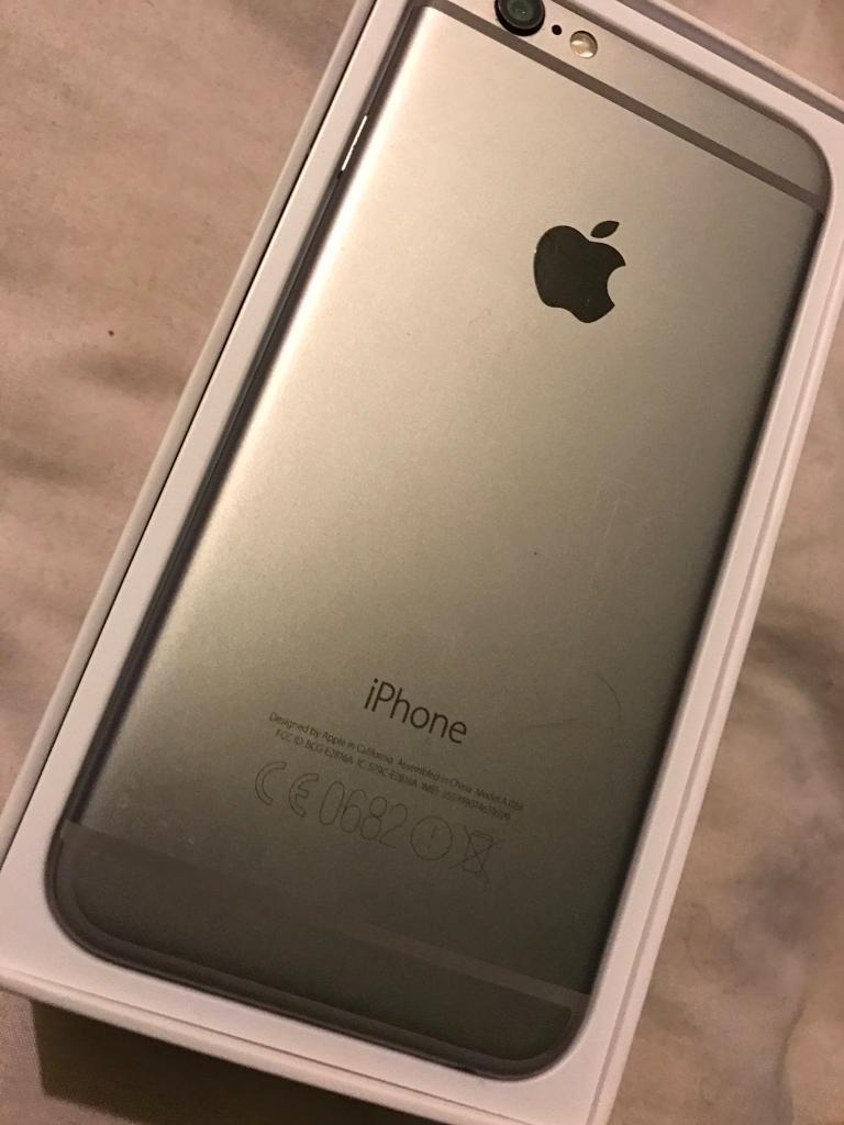 iPhone 6, 128gbin Leicester, LeicestershireGumtree - iPhone 128gb , blackiPhone 6 for sale, £250 On EE network