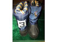 Ralph Laren Polo snow boots, size 2Uk