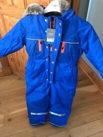 Next boys snow suit age 4-5 years