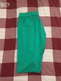 Green indian pants